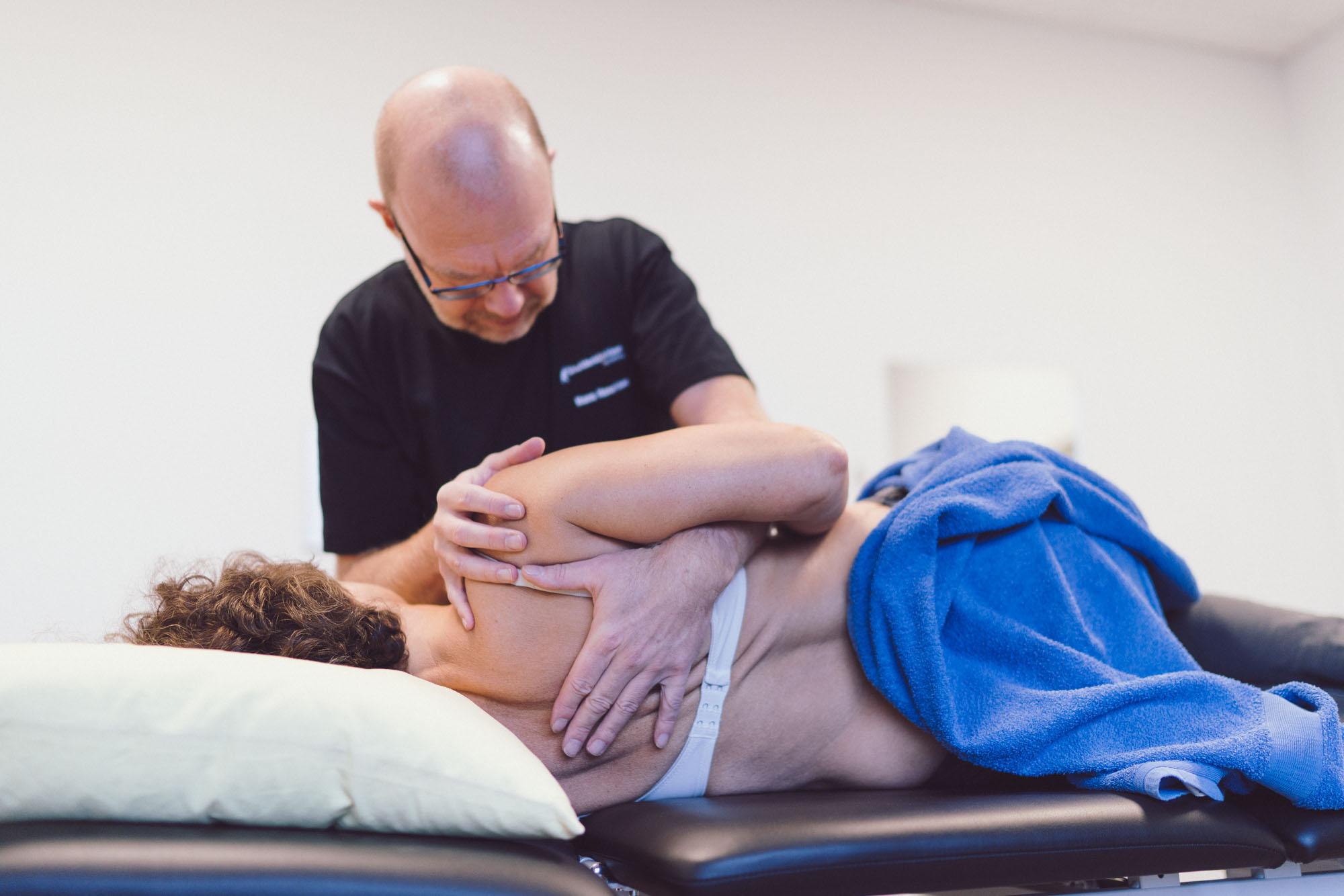Behandling fysioterapeut